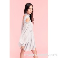 Acler Aslan Cold Shoulder Mini Dress   41623844