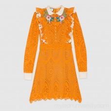 Broderie Anglaise cotton dress -  Women's Dresses 454007ZIZ977278  454007 ZIZ97 7278