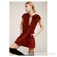 Catching The Moon Suede Dress   40167827