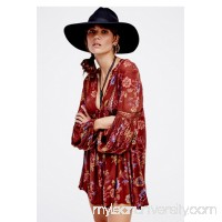 Cranberry Combo Just the Two of Us Printed Tunic   39184585