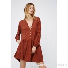 FP Beach Deep Teal Button Up Dress 35881770