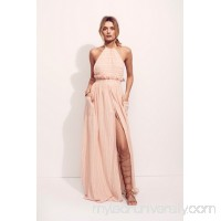 Mara Hoffman Gauze Halter Dress   37980778
