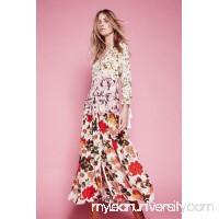 Mixed Floral Maxi Dress 41146523
