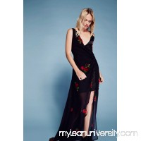 Nicole Rose Twist Maxi Dress   41579095