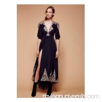 Nightcap Antique Lace Wrap Gown   39531074