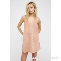Retro Love Suede Dress   38388161