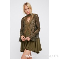 Secret Origins Pieced Lace Tunic   33484536