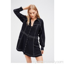 Tough As Nails Shirt Dress   39894183