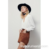 Mad Love Suede Mini Skirt 38500161