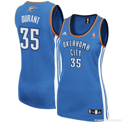size 40 834fd 364a7 adidas Kevin Durant Oklahoma City Thunder Women's Replica ...