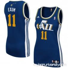 Dante Exum Utah Jazz adidas Women's Replica Jersey - Navy Blue - 1846530