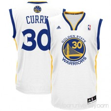 Men's adidas Golden State Warriors Stephen Curry White Home Replica Jersey -   491928
