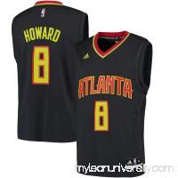 Men's Atlanta Hawks Dwight Howard adidas Charcoal Road Replica Jersey -   2545774