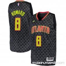 Men's Atlanta Hawks Dwight Howard adidas Charcoal Road Swingman Jersey -   2620048