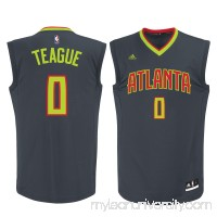 Men's Atlanta Hawks Jeff Teague adidas Gray Replica Jersey -   2172575