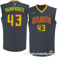 Men's Atlanta Hawks Kris Humphries adidas Black Road Replica Jersey -   2622770
