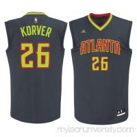 Men's Atlanta Hawks Kyle Korver adidas Gray Replica Jersey -   2172574