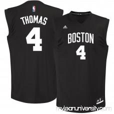 Men's Boston Celtics Isaiah Thomas adidas Black Chase Fashion Replica Jersey -   2688869