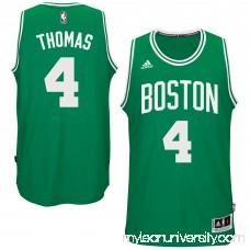 Men's Boston Celtics Isaiah Thomas adidas Kelly Green Road Swingman climacool Jersey -   2560037