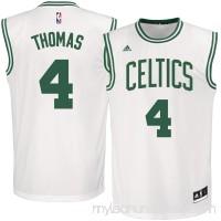 Men's Boston Celtics Isaiah Thomas adidas White Replica Jersey -   2592394