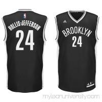 Men's Brooklyn Nets Rondae Hollis-Jefferson adidas Black Replica Jersey -   2296994