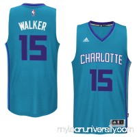 Men's Charlotte Hornets Kemba Walker adidas Teal Player Swingman Jersey -   1817175