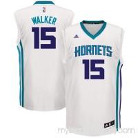 Men's Charlotte Hornets Kemba Walker adidas White Home Replica Jersey -   2607651