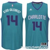 Men's Charlotte Hornets Michael Kidd-Gilchrist adidas Teal Player Swingman Alternate Jersey - 1817174