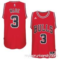 Men's Chicago Bulls Dwyane Wade adidas Red Swingman Jersey -   2525979