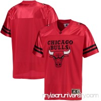 Men's Chicago Bulls G-III Sports by Carl Banks Red Football Jersey - 2655631