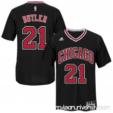 Men's Chicago Bulls Jimmy Butler adidas Black Swingman climacool Jersey - 2186719