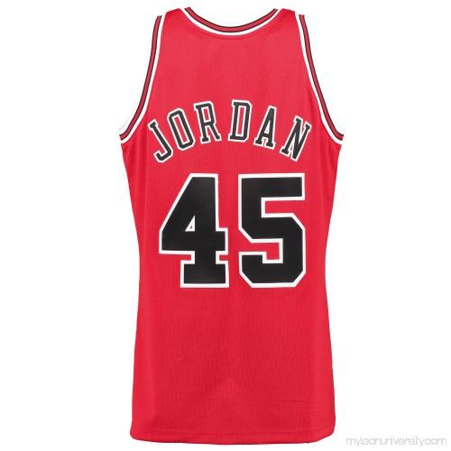 97be7c8949f Men's Chicago Bulls Michael Jordan #45 Mitchell & Ness 1994-95 Homecoming  Authentic Jersey - 1924811