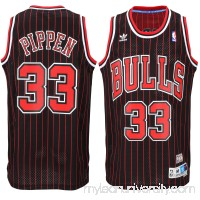 Men's Chicago Bulls Scottie Pippen adidas Black Hardwood Classics Swingman Jersey -   2035298