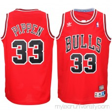 Men's Chicago Bulls Scottie Pippen adidas Red Hardwood Classics Swingman Jersey -   2035299