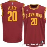 Men's Cleveland Cavaliers Kay Felder adidas Garnet Road Replica Jersey -   2624523