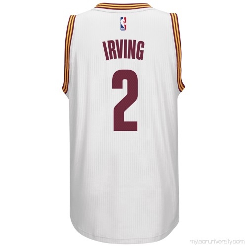 e3c015fc1 Men s Cleveland Cavaliers Kyrie Irving adidas White Player Swingman Home  Jersey - 1768769