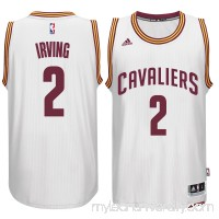 Men's Cleveland Cavaliers Kyrie Irving adidas White Player Swingman Home Jersey -   1768769