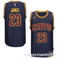 Men's Cleveland Cavaliers LeBron James adidas Navy Player Swingman Jersey -   1993170
