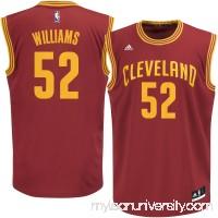 Men's Cleveland Cavaliers Mo Williams adidas Wine Replica Jersey -   2262506