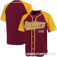 Men's Cleveland Cavaliers Starter Burgundy/Gold Baseball Jersey -   2655406