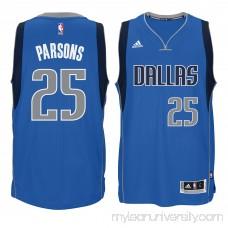 Men's Dallas Mavericks Chandler Parsons adidas Blue Swingman climacool Jersey - 2180790