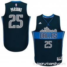 Men's Dallas Mavericks Chandler Parsons adidas Navy Swingman Jersey - 2187058