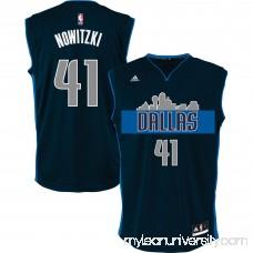 Men's Dallas Mavericks Dirk Nowitzki adidas Navy Alternate Replica Jersey -   2608589