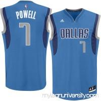 Men's Dallas Mavericks Dwight Powell adidas Royal Replica Jersey - 2362518