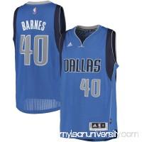 Men's Dallas Mavericks Harrison Barnes adidas Blue Road Swingman climacool Jersey -   2603287