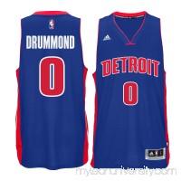 Men's Detroit Pistons Andre Drummond adidas Blue Swingman climacool Jersey -   2181622
