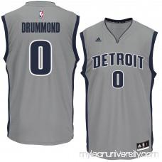 Men's Detroit Pistons Andre Drummond adidas Gray Replica Basketball Jersey - 2444726
