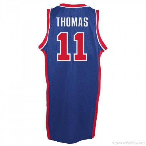 Men s Detroit Pistons Isaiah Thomas adidas Blue Hardwood Classic Swingman  Jersey - 2148683 a10fdad75