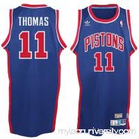 Men's Detroit Pistons Isaiah Thomas adidas Blue Hardwood Classic Swingman Jersey -   2148683