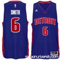 Men's Detroit Pistons Josh Smith adidas Royal Player Swingman Road Jersey - 1817189